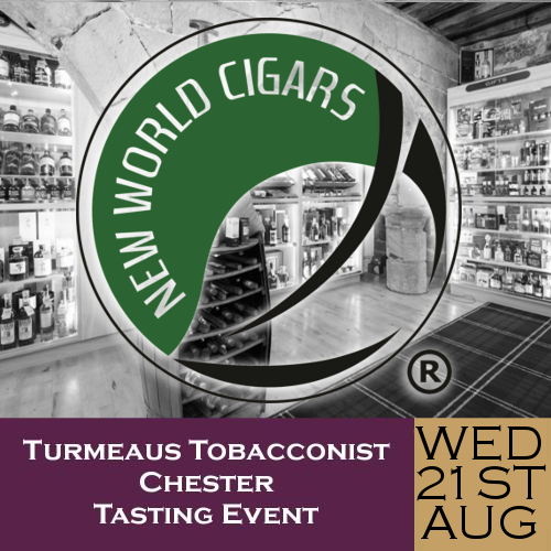 Turmeaus Chester Whisky & Cigar Tasting Event - 21/08/19