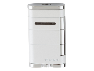 Xikar Allume Single Jet Lighter - Pearl