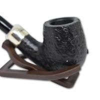 Peterson Blackrock Army Silver Mounted Sandblast 65 Pipe