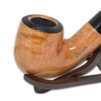 Peterson Clontarf Natural Briar Smooth Bent X220 Fishtail Pipe (G1159)