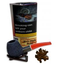 Germains Rich Dark Flake Pipe Tobacco 50g (Pouch)