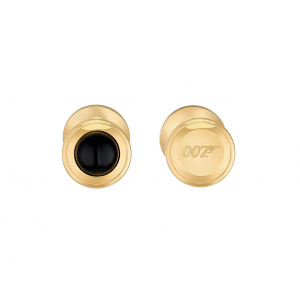 ST Dupont Limited Edition - James Bond Cufflinks - Yellow Gold & Black Onyx
