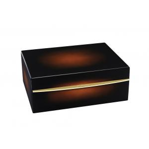 ST Dupont - Sun Burst Brown Natural Lacquer Yellow Gold - Humidor