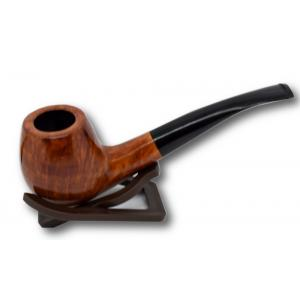 London Made Dark Curved Pipe 07