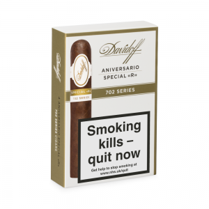 Davidoff 702 Series Aniversario Special R Cigar - Pack of 4