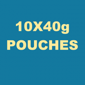 Gold Block Pipe Tobacco 400g (10 x 40g Pouches)