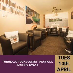 Turmeaus Norfolk Whisky and Cigar Tasting Event - 10/4/18