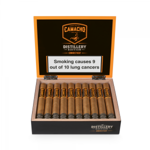Camacho Distillery Edition Connecticut Toro Cigar - Box of 20