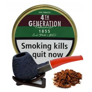 Erik Stokkebye 4th Generation 1855 Erik Peters Blend Pipe Tobacco 50g Tin