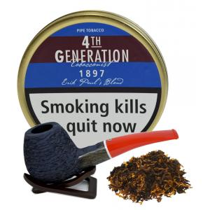 Erik Stokkebye 4th Generation 1897 Erik Pauls Blend Pipe Tobacco 50g Tin