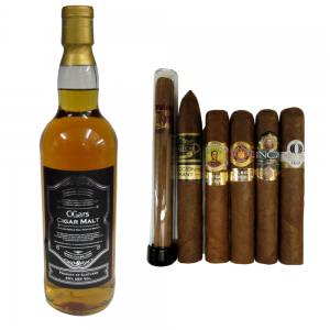 200th Anniversary Cigar and Whisky Sampler - 6 Cigars