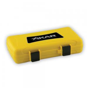 Xikar Travel Waterproof Case Yellow - 5 Cigar Capacity