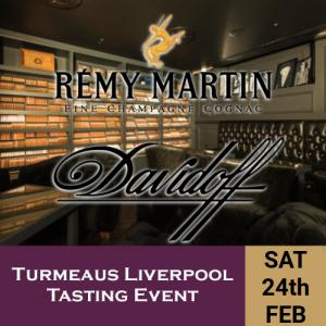 Turmeaus Liverpool Whisky & Cigar Tasting Event - 24/2/18