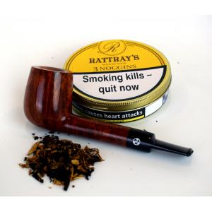 Rattrays 3 Noggins Pipe Tobacco (Tin)