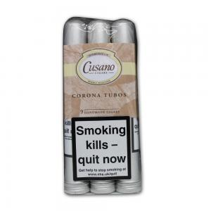 Cusano 3 x 3 Tubos Corona Cigars - Pack of 9