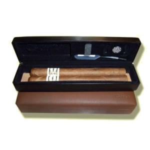 Csonka Travel Cigar Case - Transporter - Black