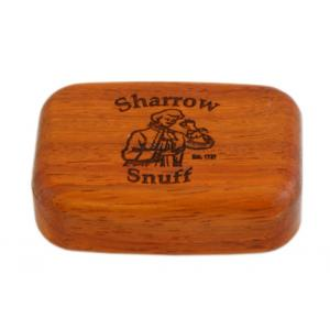 Wilsons of Sharrow Wooden Snuff Box - Rosewood