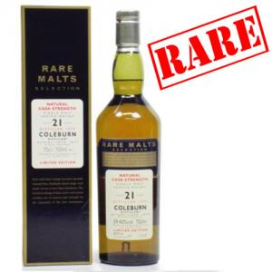 Coleburn 21 Year Old 1979 Vintage Rare - 59.4% 70cl