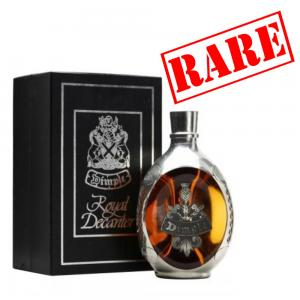 "Dimple 12 Year Old 1980s ""Royale Decanter"" Pewter Whisky - 75cl 43%"