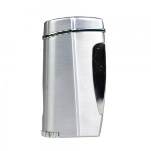 Xikar Executive II Single Jet Lighter - Silver