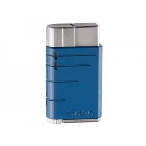 Xikar Linea Single Flame Lighter - Blue