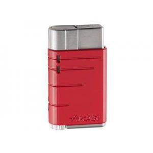 Xikar Linea Single Flame Lighter - Red