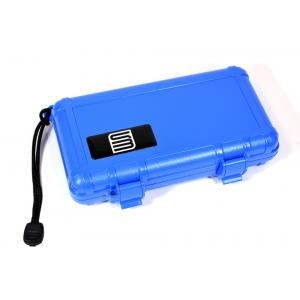 S3 Travel Waterproof Humidor Case - 5 Cigar Capacity - Blue