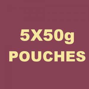 Special Virginia Ready Rubbed Pipe Tobacco - 5x50g Pouches