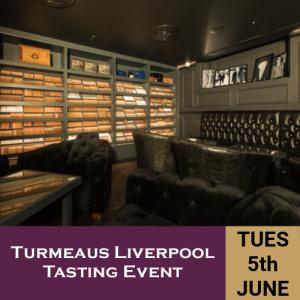 Turmeaus Liverpool Whisky & Cigar Tasting Event - 5/6/18
