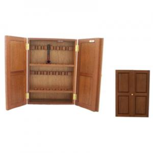 12 Pipe English Made Pipe Cabinet