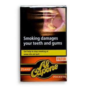Al Capone Pockets Flame Filter Cigarillos - Pack of 10