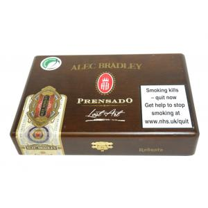 Empty Alec Bradley Prensado Lost Art Robusto Cigar Box