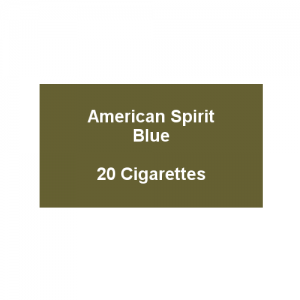 American Spirit Blue - 1 Pack of 20 cigarettes (20) (End of Line)