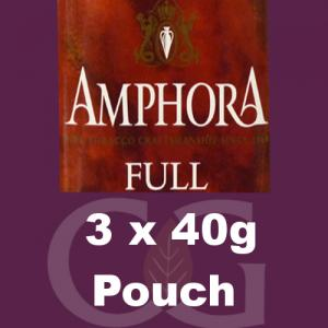 Amphora Full Pipe Tobacco - 120g (3 x 40g Pouches)