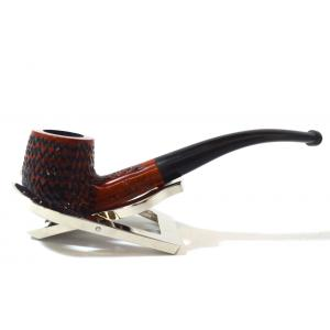 BBB Lightweight Carved Metal Filter Briar Fishtail Pipe (BBB113)
