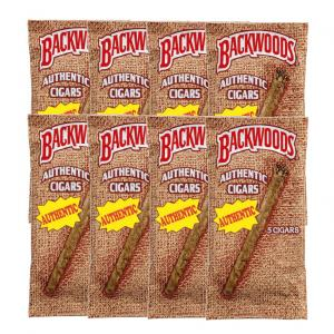 Backwoods Authentic Cigars - 8 Packs of 5 (40 cigars)