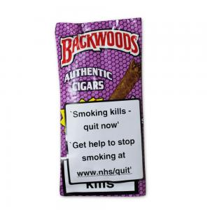 Backwoods Purple Cigars - Pack of 5