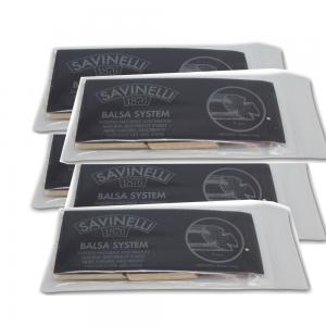 Savinelli Balsa Pipe Filters 9 mm 5 packs of 15