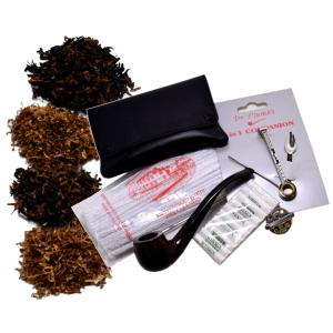 Beginners Pipe Tobacco and Accessories Sampler