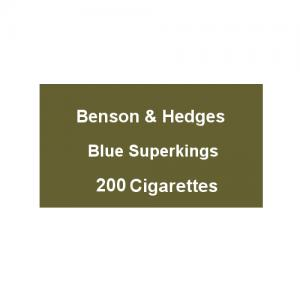 Benson & Hedges Blue Superking - 10 Packs of 20 Cigarettes (200)