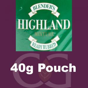 Blenders Highland RR Pipe Tobacco 040g Pouch