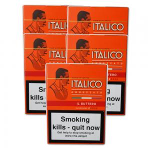 Italico II Buttero Cigars - 5 Packs of 5 (25)