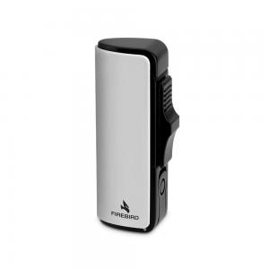 Colibri Firebird Edge - Triple Jet Flame Lighter - Chrome
