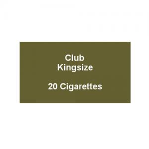 Club Kingsize Cigarettes - 1 Pack of 20 Cigarettes (20)