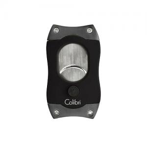 Colibri S Cut Ez-Cut Cigar Cutter - Black & Gunmetal