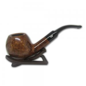 Viking Classic Waxed Smooth Apple Full Bent Pipe (VI009)
