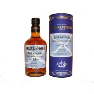 Edradour 12 Year Old Caledonia Single Malt Scotch Whisky - 70cl 46%