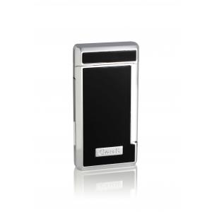 Caseti Twin Jet Lighter – Black Lacquer