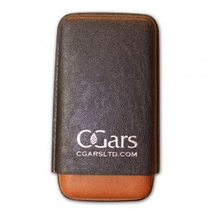 C.Gars Two Tone Leather Cigar Case Fuerte  –  Three Cigar Case - Best Seller