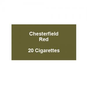 Chesterfield Red King Size Cigarettes - 1 pack of 20 cigarettes (20)